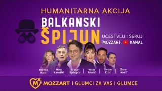 Mozzart i glumci za vas i glumce – Balkanski špijun