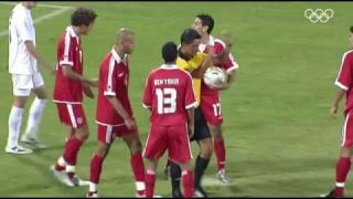 The longest penalty taken ever 6 attempts Tunisia vs Serbia (Olympics 2004)