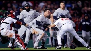 YANKEES AND RED SOX BRAWL! TYLER AUSTIN CHARGES THE MOUND! | 04/11/2018 | 1080p HD